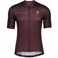 Camisa Scott Rc Team 10 MARRON/LARANJA
