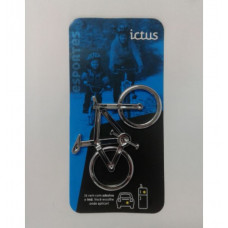 Emblema Ictus Bike Prata