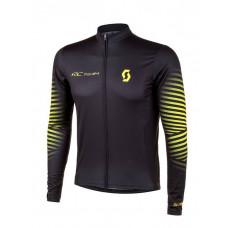Camisa Scott RC Team 2020 manga longa - preto/amarelo