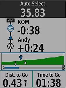 GPS GARMIN BUNDLE EDGE 520 PLUS
